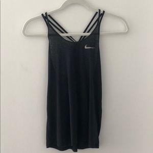 Nike Black/Heather Tank